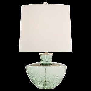 Misha Half Crackle Glass Table Lamp by Arteriors