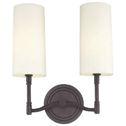 Dillion 2-Light Wall Sconce by Hudson Valley