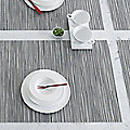 Rib Weave Tablemat by Chilewich