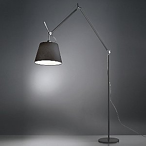 Tolomeo Mega Black Floor Lamp by Artemide