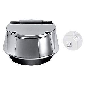 90th Anniversary Limited Edition Round Sugar Bowl by Alessi
