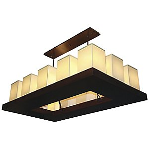 Candela Rectangular Chandelier by Stonegate Designs