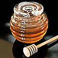 Honey Pot by Hergiswil Glass