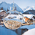 Bird Feeder by Hergiswil Glass
