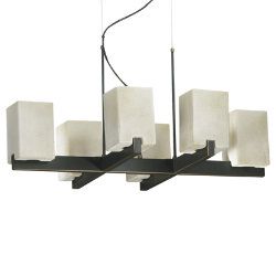Modus 6-Light Chandelier by Quorum