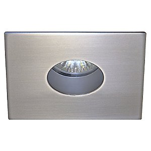 R3152 Recessed Pinhole Square Trim with Round Opening by Contrast Lighting