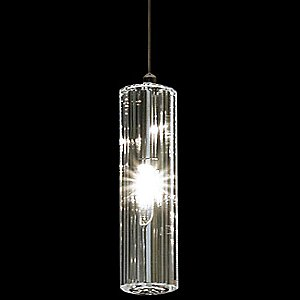 Solo Multi-Faceted Crystal Pendant by Trend Lighting