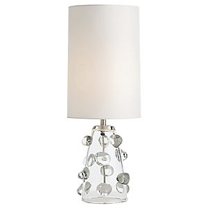 Poppy Glass Table Lamp by Arteriors