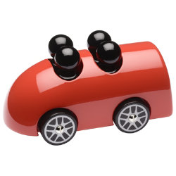 Xbus Wooden Toy Car by Playsam