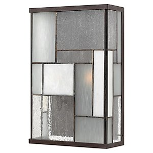 Mondrian Outdoor Wall Sconce by Hinkley Lighting