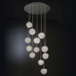 Snow Multi-Light Pendant by Trend Lighting