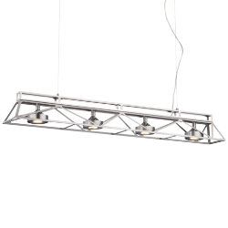 Bridge LED Linear Suspension by Forecast Lighting