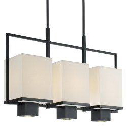 Metro 3-Light Linear Suspension by Sonneman