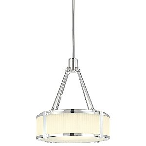 Roxy Drum Pendant by Sonneman