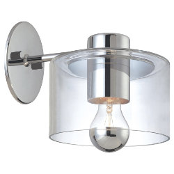 Transparence Wall Sconce by Sonneman