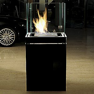 Semi Flame Fireplace by Radius