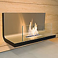 Wall Flame I Fireplace by Radius