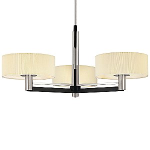 Struttura 3-Light Chandelier by Sonneman
