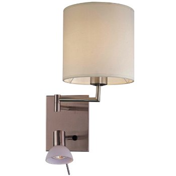 George's Reading Room Wall Lamp (Nickel) - OPEN BOX RETURN