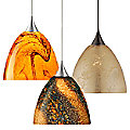Sasha Mini Pendant by Besa Lighting