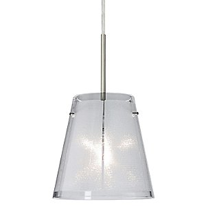 Amelia 6 Glitter Pendant by Besa Lighting