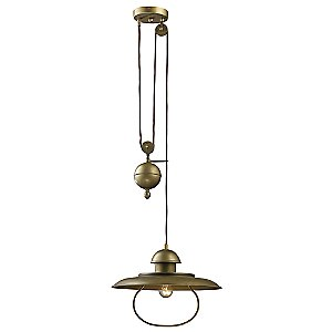 Farmhouse Pulldown Pendant by Landmark Lighting