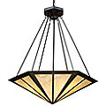 Oak Park Bowl Pendant By Landmark Lighting