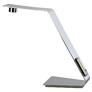 Edgy Rectangular LED Task Lamp by Trend Lighting