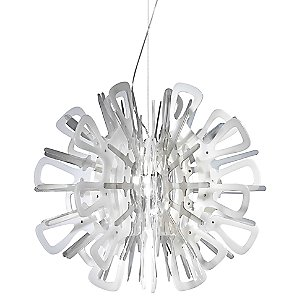 Creatures White Pendant by Slamp for Zaneen