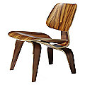 Eames Molded Plywood Lounge - Wood Base by Herman Miller