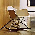 Eames Molded Plastic Armchair - Rocker Base by Herman Miller