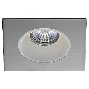 R2100V SM Downlight Square Trim with Smooth Glass Reflector by Contrast Lighting