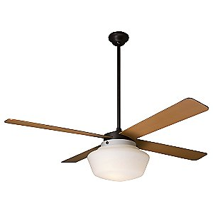 Schoolhouse Ceiling Fan by Period Arts Fan Company