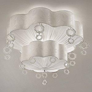 Giselle PL 100-60 2-Tier Flushmount by Gallery Vetri d