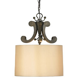 Oberon Pendant by Currey and Company