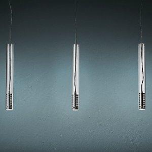 Tubo LED Multi-Light Pendant by FontanaArte