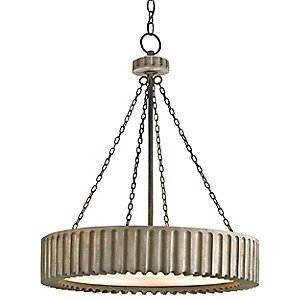 Greyledge Chandelier by Currey and Company