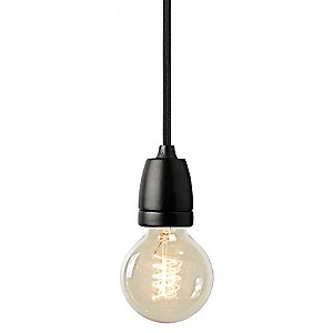 NUD Classic Black Pendant by NUD Collection