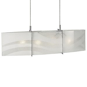 Wave Linear Suspension by Forecast Lighting