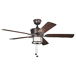Deckard Outdoor Ceiling Fan by Kichler