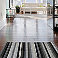 Even Stripe Shag Indoor / Outdoor Mat by Chilewich
