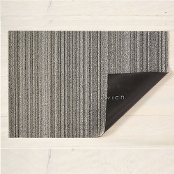 Skinny Stripe Shag Indoor / Outdoor Mat by Chilewich