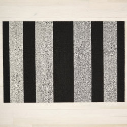 Bold Stripe Shag Indoor / Outdoor Mat by Chilewich