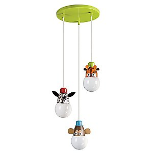 Kidsplace Multi-Light Pendant No. 40594 by Philips