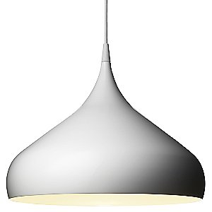 Spinning Pendant Lamp by &Tradition (White/Large) - OPEN BOX RETURN