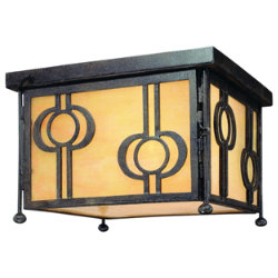 Aberdeen Outdoor Flushmount by Troy Lighting