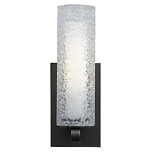 Mini-Rock Candy Cylinder Wall Sconce by LBL Lighting