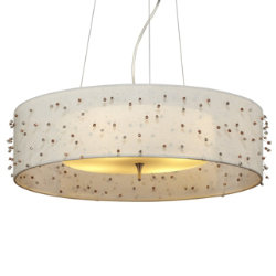 Sunkissed Drum Pendant by LBL Lighting