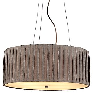Cato Drum Pendant by LBL Lighting