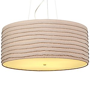 Zip Drum Pendant by LBL Lighting